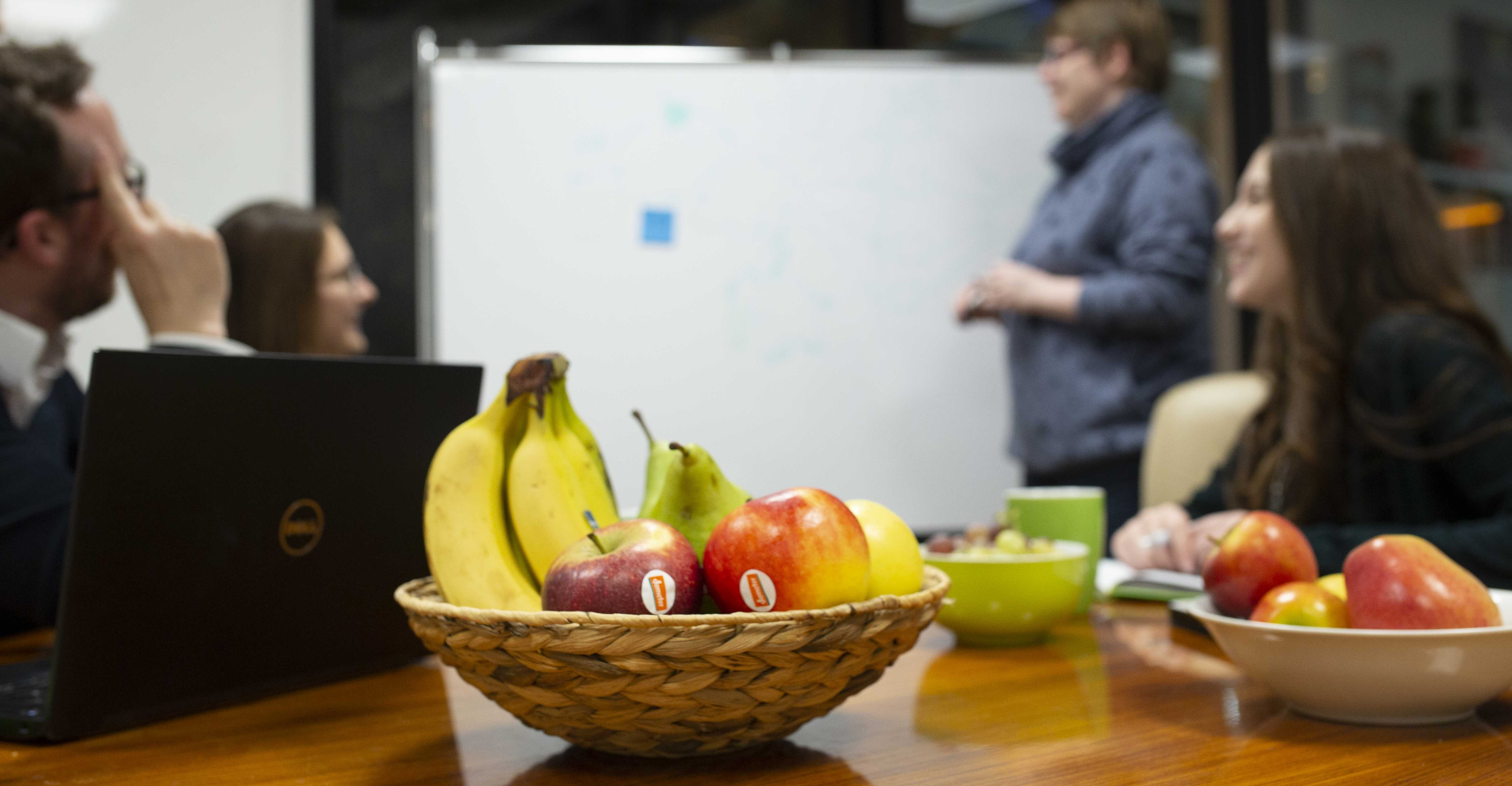 Obst im Office